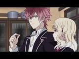 Возлюбленные Дьявола / Diabolik Lovers 2 серия [Amaya_Fox & TIA]